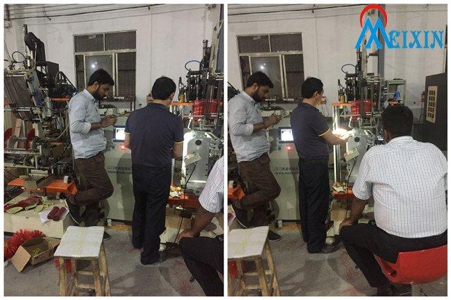Mechanical Training at MEIXIN factory